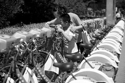 北京公租自行车下月将面向非京籍人士开放