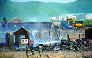 伊春爆炸企业系非法生产 已于6月被勒令停产