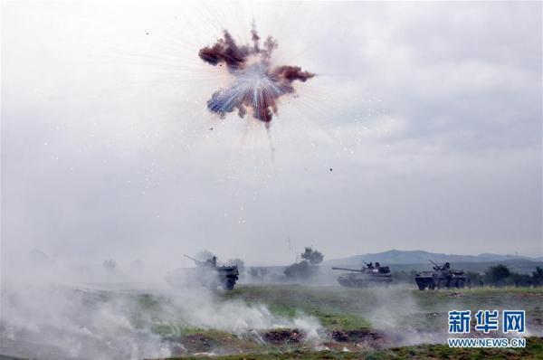 """坦克--陆军调整转型方向之一的""""合成营""""练得如何了?"""