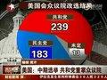 视频:美国中期选举 共和党重掌众议院