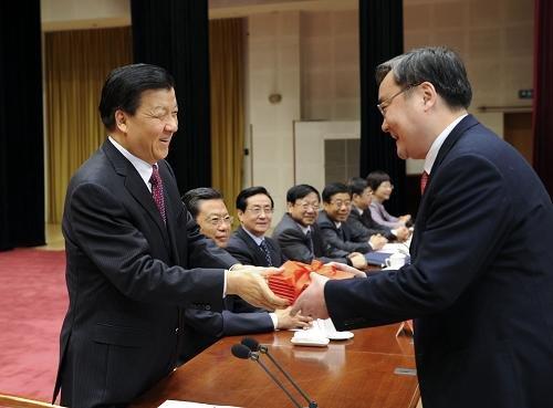 刘云山出任中央党校校长 出席秋季学期毕业典礼