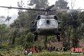 哥伦比亚军用直升机坠毁