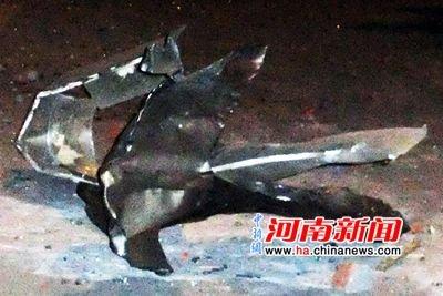 郑州市公安局一办公场所发生爆炸(组图)
