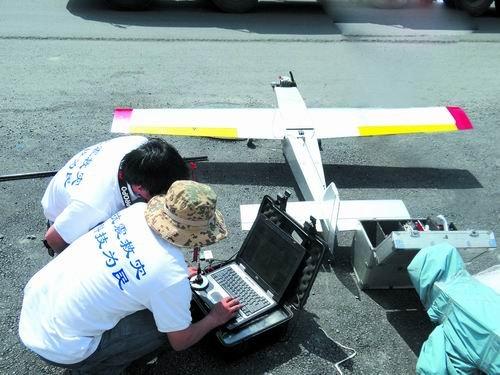 山地鹰遥感无人机亮相震区 一天飞行160公里