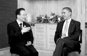 温家宝:南海争议应由直接相关国家谈判解决