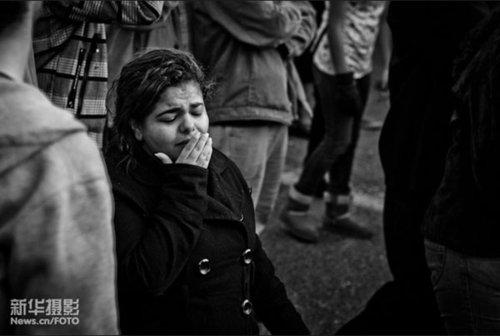 埃及:这次不是风光片(拍摄日期:2011年1月26日,摄于埃及首都开罗影 柳熹 )