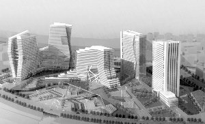 """常州创意产业基地建形似央视""""大裤衩""""建筑"""