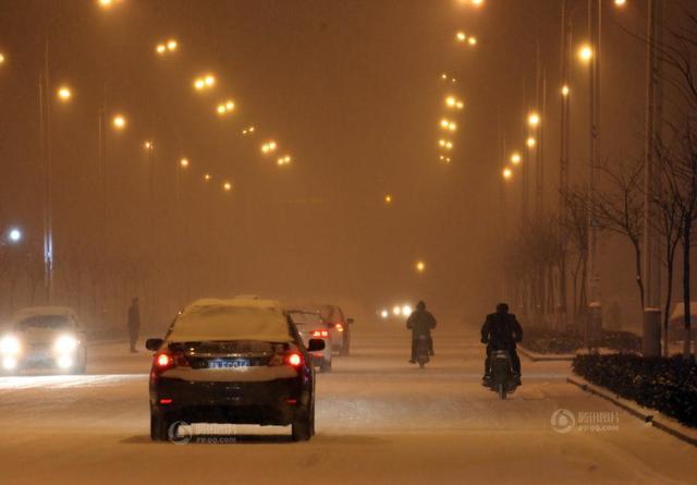 我国中东部有大到暴雪 局地积雪16厘米