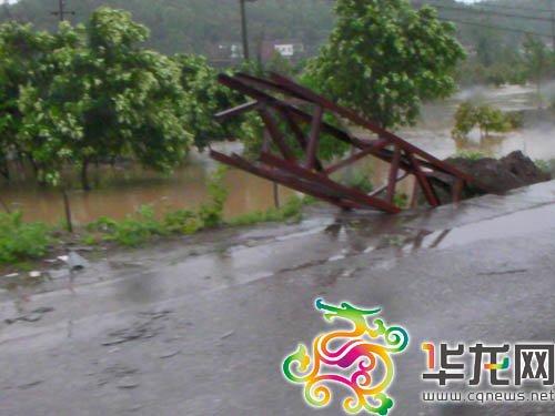 组图:垫江县桂溪乡石岭村受灾情况