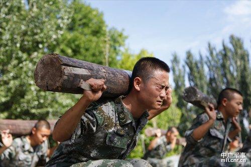 内蒙赤峰木头沟部队