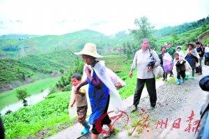贵州安顺山体滑坡 107名村民被掩埋(组图)