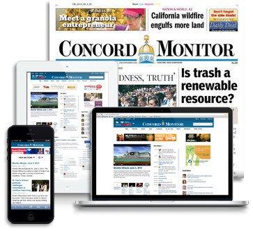 《康科德监督者报》(Concord Monitor)。