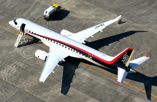 日本首架国产客机11日试飞 从名古屋出发