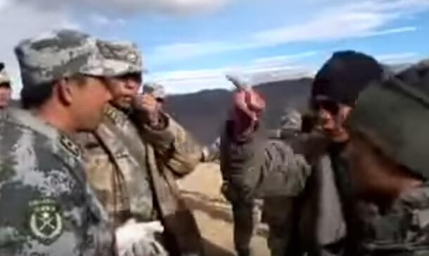 印媒曝光2012-2013年间中印边界部队对峙视频