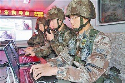 """解放军培养""""情报信息师""""处理战场海量信息"""