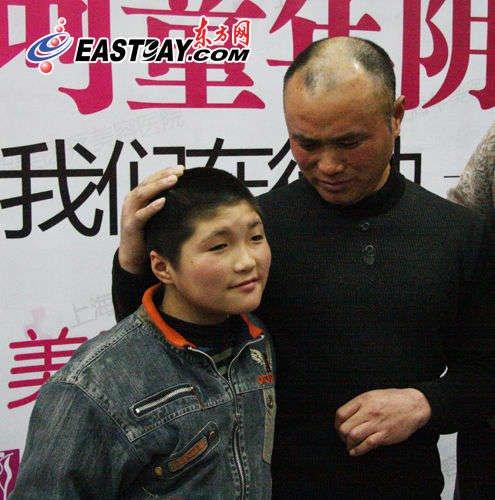 图片说明:小西京和他的父亲王建国