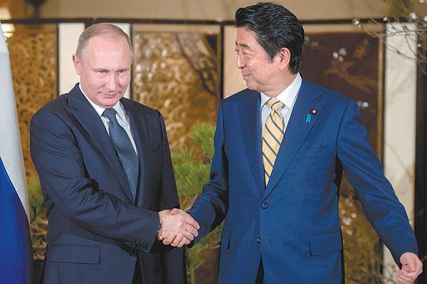 """日俄将共同开发""""北方四岛"""" 俄方坚持""""不存在争议"""""""