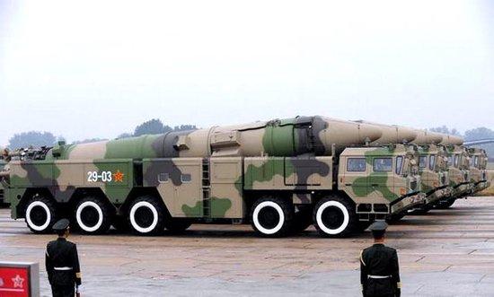 美媒:应把中国纳入中导条约 否则重启中程导弹