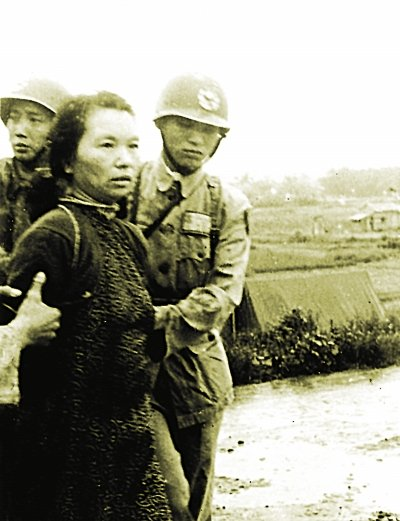 1950年6月,朱枫于台北马场町刑场就义。