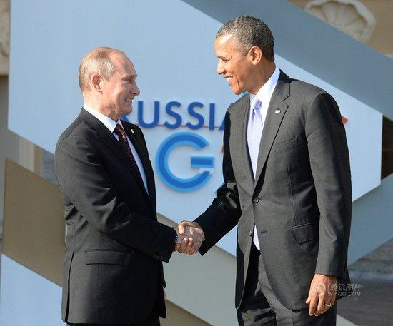 普京称若叙遭打击将施援手 会晤奥巴马分歧难消