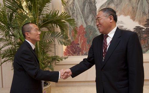 解振华接见中国NGO 称赞并肯定其重要作用