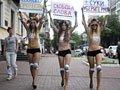 美女裸体吁言论自由