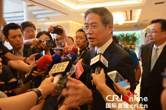 """中共中央台办、国务院台办主任张志军就台湾""""导弹误射""""事件接受访问。"""