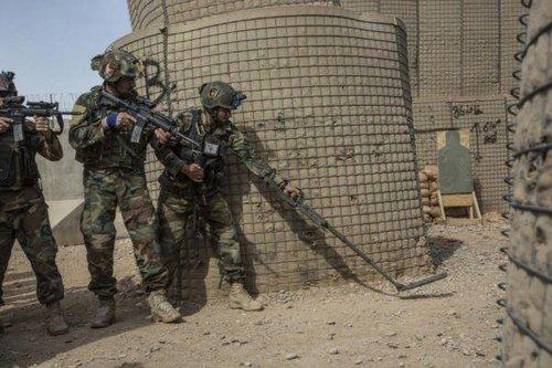 阿富汗突击队击毙22名塔利班武装分子 含一头目