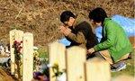 实拍日本海啸遇难者临时公墓