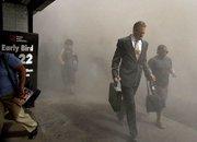 """""""911""""事件现场逃亡的纽约市民"""