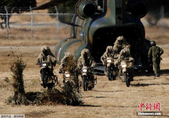 日本将设海陆空三军联合部队 部署美无人侦察机
