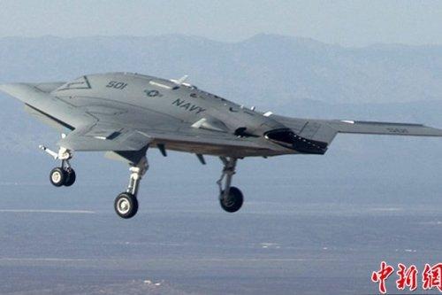 日媒:美X-47B无人机能歼灭中国反航母弹道导弹