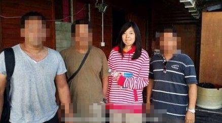马来西亚警方公布获释中国游客照片(图)