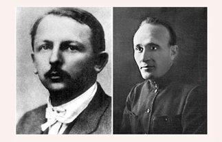 """两位参加""""一大""""的共产国际代表马林和尼尔科斯基"""