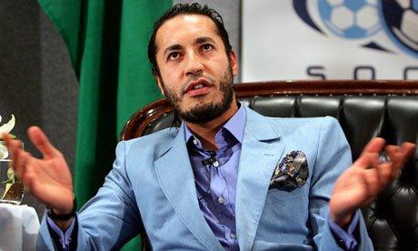 卡扎菲三子发律师信 对其父亲弟弟死因表示愤怒