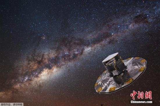 """""""盖亚""""探测器发射升空 将观测太空10亿颗恒星"""