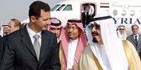 叙利亚总统巴沙尔和沙特国王阿卜杜拉