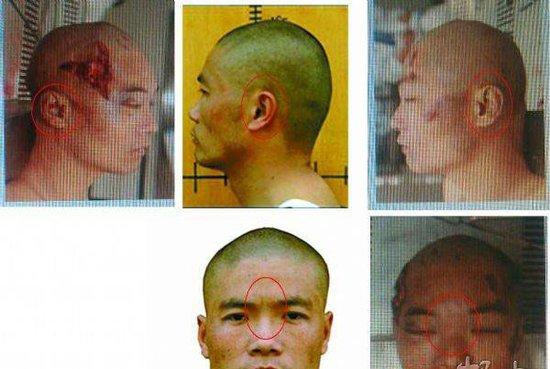 网传周克华被击毙后照片