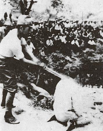 中国公布日本战犯笔供 活体解剖 令人发指