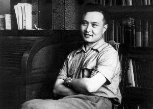 1951年师昌绪在美国读博士期间的留影(资料照片)。