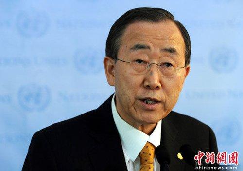 潘基文连任联合国秘书长 引老子名言发表演说
