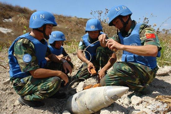 中国赴黎巴嫩维和官兵成中国对外交往新名片