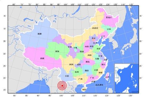 缅甸发生7.2级地震