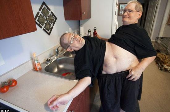 世界上的最胖的人图片