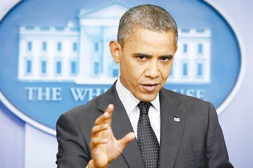 奥巴马为叙利亚划红线 俄警告单边动武风险太高