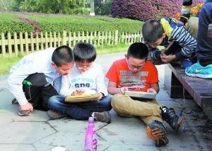 上海v儿童称近八成儿童游戏高科技产品沉迷(图小学的徐汇最好图片