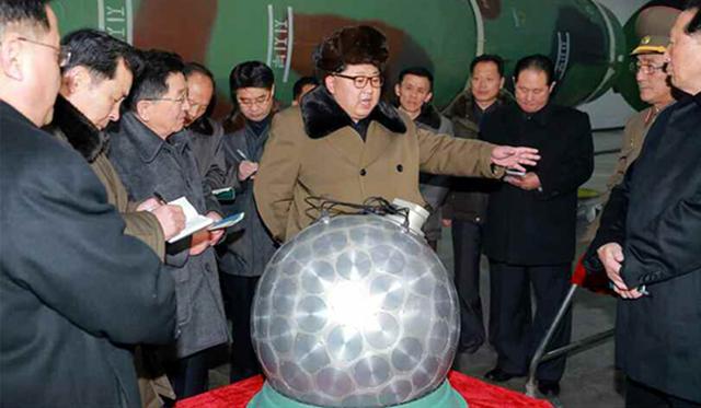 美军高官认可朝鲜有发射核兵器才能 但掷中率不详