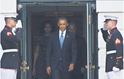 奥巴马:如果胆敢威胁美国 你将找不到安全乐土