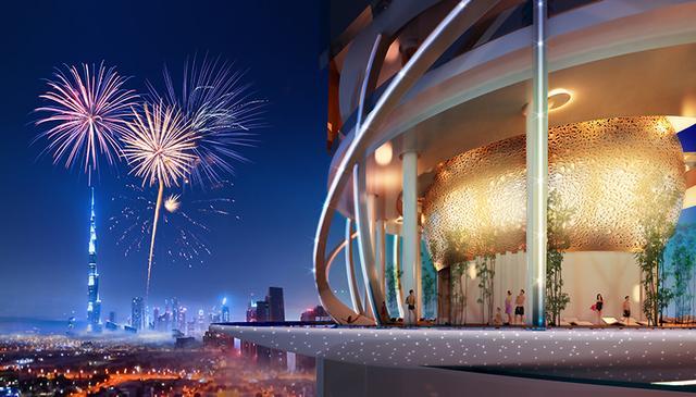 迪拜酒店壕上天拥有热带雨林