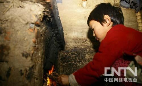 每天都要生火做饭